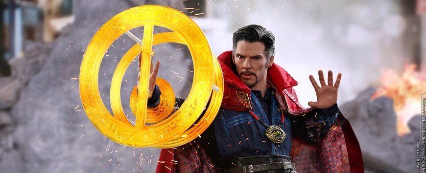 occhio chiuso 1//6 MMS484 Toys Hot Avengers Infinity War DOTTOR STRANGE-Amuleto