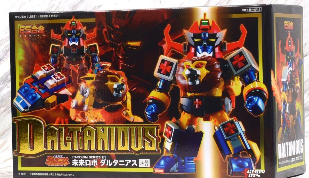 """Rilasciato] Action Toys: Daltanious """"Daltanious – Il robot"""