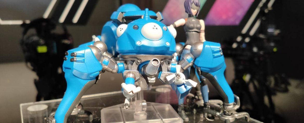 Mostre E Eventi Tamashii Features 2020 Motoko Kusanagi Tachikoma Ghost In The Shell Sac 2045 Variable Action Hi Spec Gokin It By Metalrobot